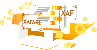 How to create a business application using XAFARI