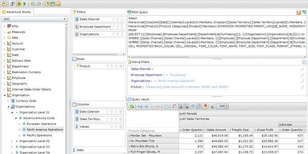 Ranet OLAP MDX Designer – New Version