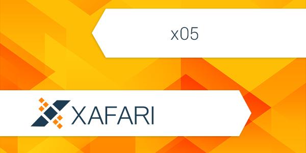 New Release: Xafari x05