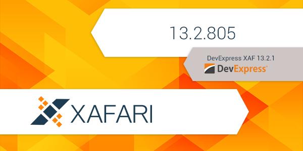 New Release: Xafari 13.2.805