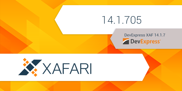 New Release: Xafari 14.1.705