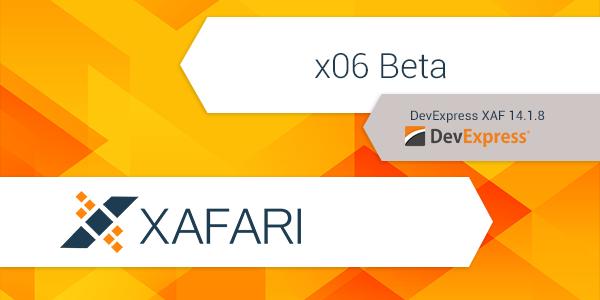 New Release – Xafari x06 Beta