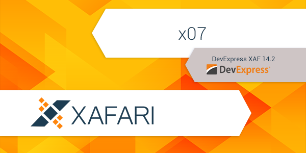 What's new Xafari x07 on the DevExpress 14.2