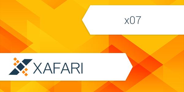 Release Xafari x07