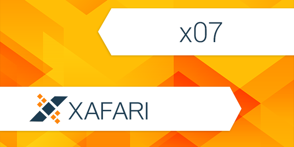 Working with Xafari (x07) Message Queue