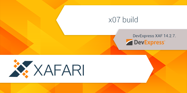 New Xafari x07 build
