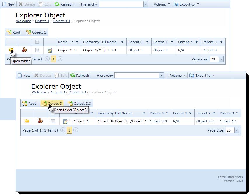 Explorer List Editor
