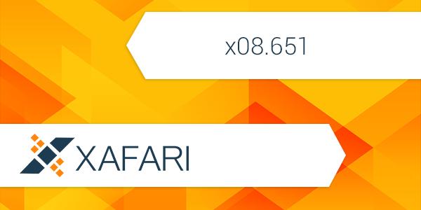 New build: Xafari x08.651