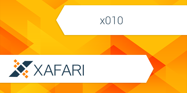 Xafari x010 is Officially Released