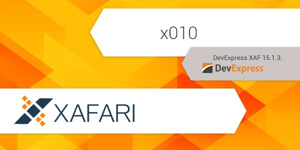 Xafari x010 Release