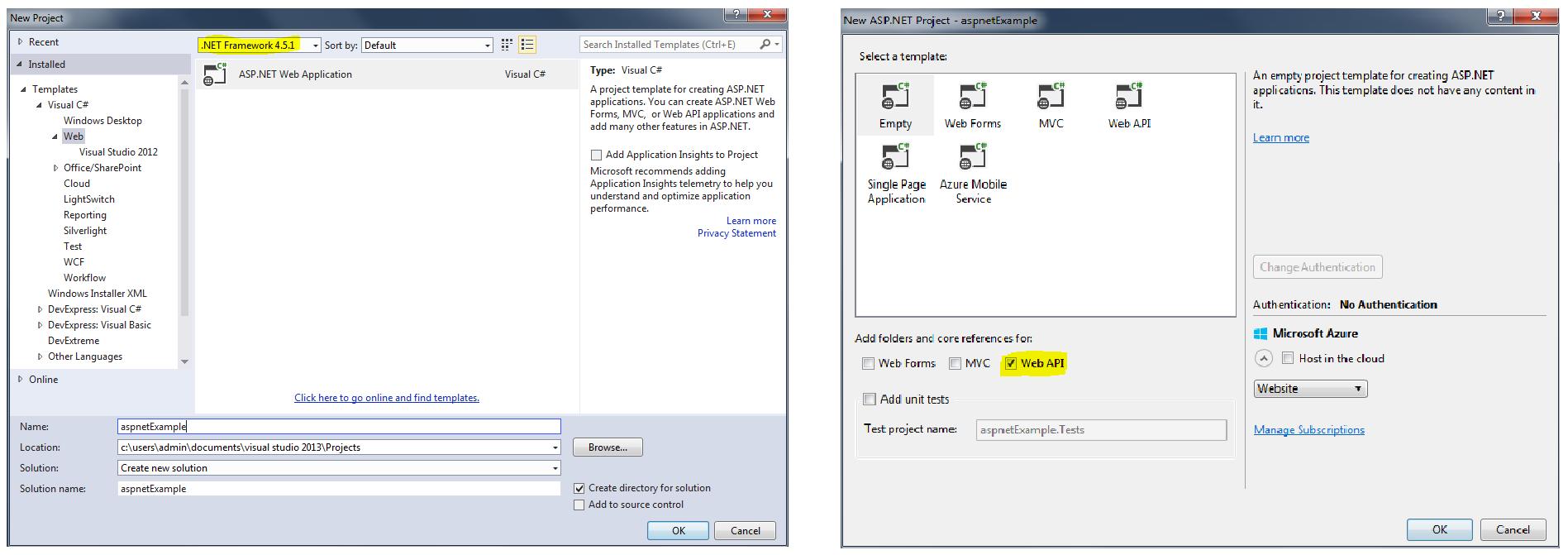 ranet olap in asp net application