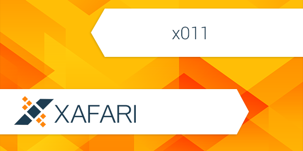 Xafari x011. What to Expect