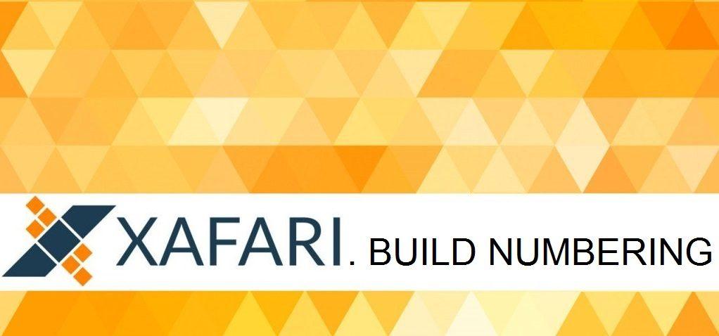 How we Number Xafari Framework Builds