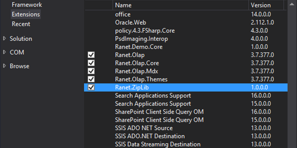 Integrating Ranet UI in a WinForms Application