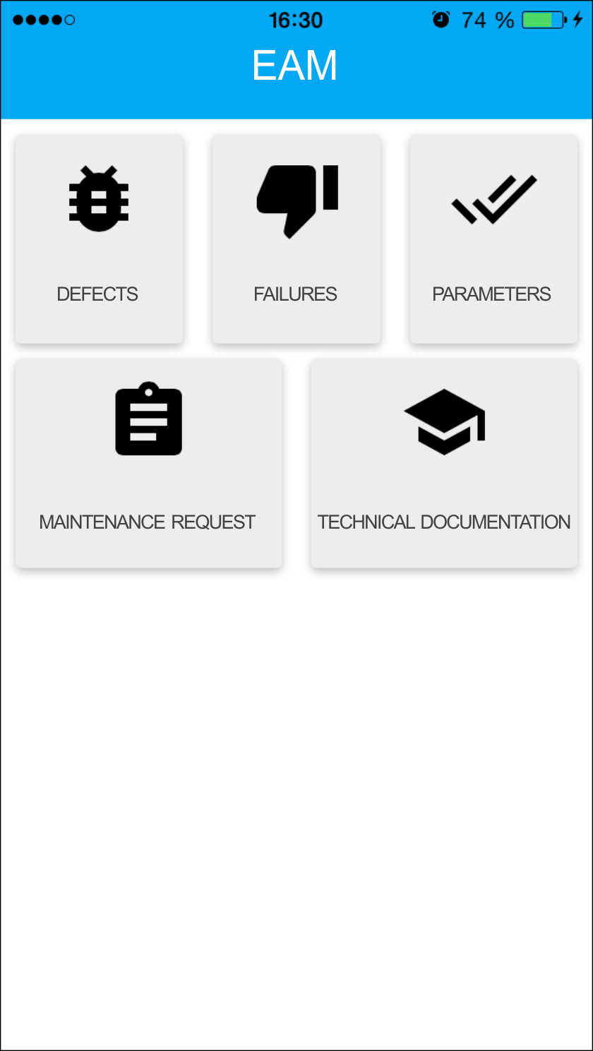 eam solution mobile module