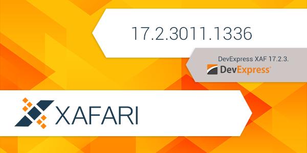 New Build: Xafari 17.2.3011.1336