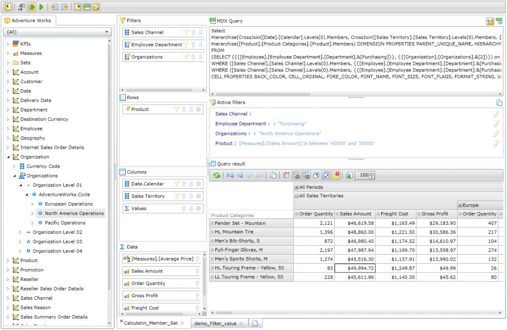 Ranet OLAP MDX Designer (new).