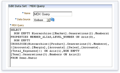 MDX is a query language used in Ranet OLAP