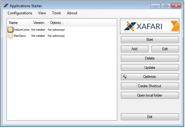 Xafari App Starter