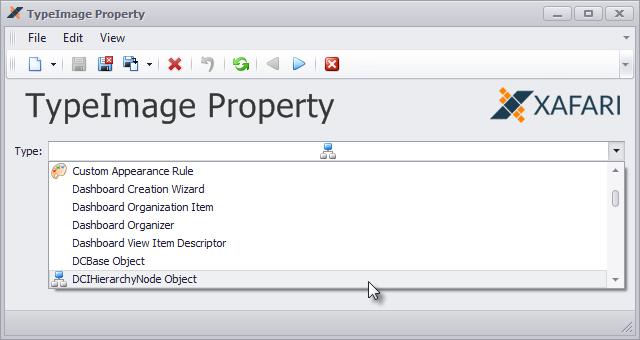 Xafari Type Image Property Editor