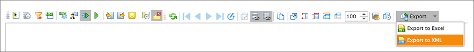 Ranet OLAP silverlight toolbar