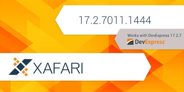 New Build: Xafari 17.2.7011.1444