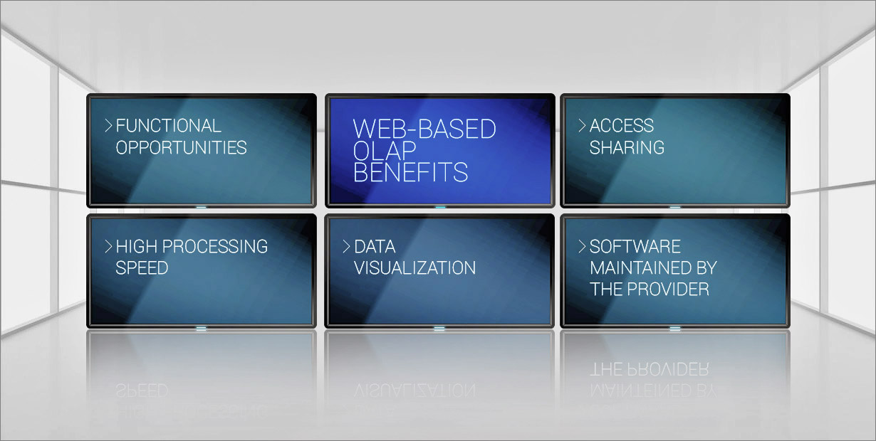 Web-based OLAP Benefits