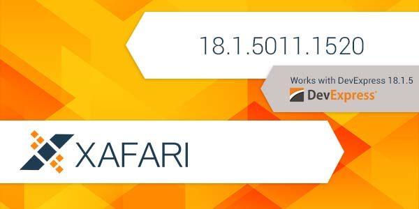 New Build: Xafari 18.1.5011.1520