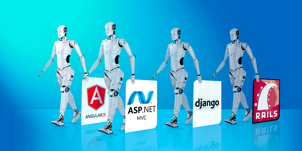 Web Application Frameworks types