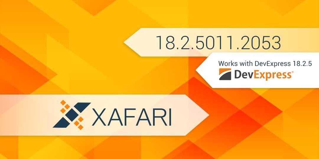 New Build: Xafari 18.2.5011.2053