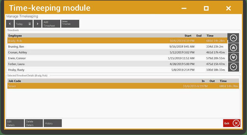 Time-keeping Module