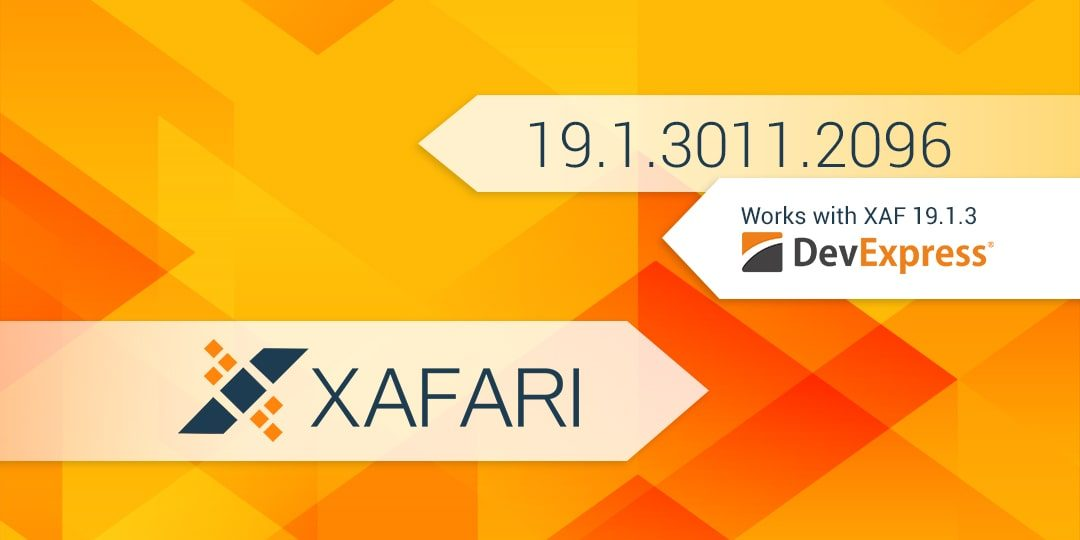 New Build: Xafari 19.1.3011.2096