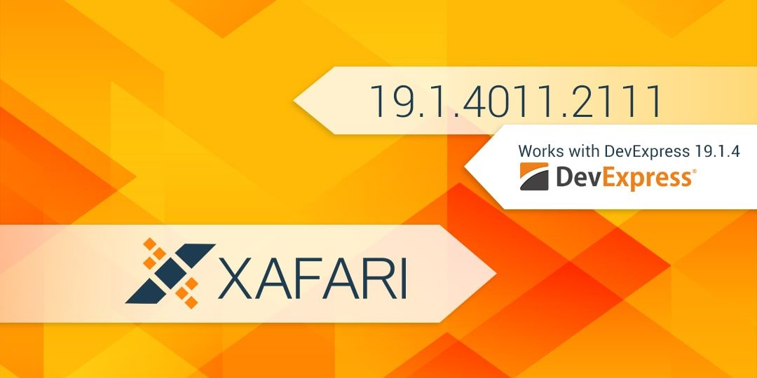 New Build: Xafari 19.1.4011.2111