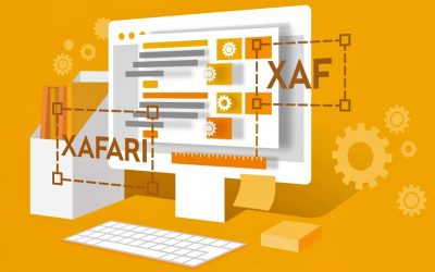 How to create a business application using XAFARI and XAF