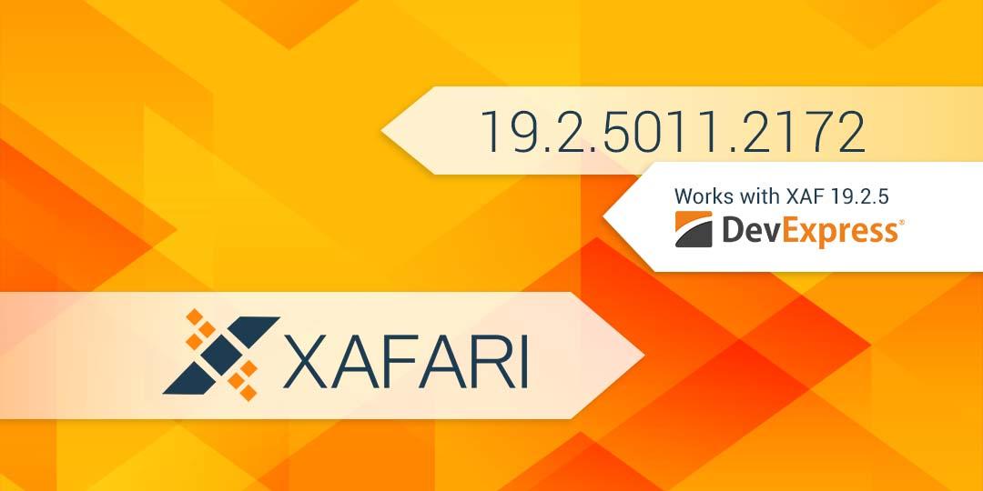 New Build: Xafari 19.2.5011.2172